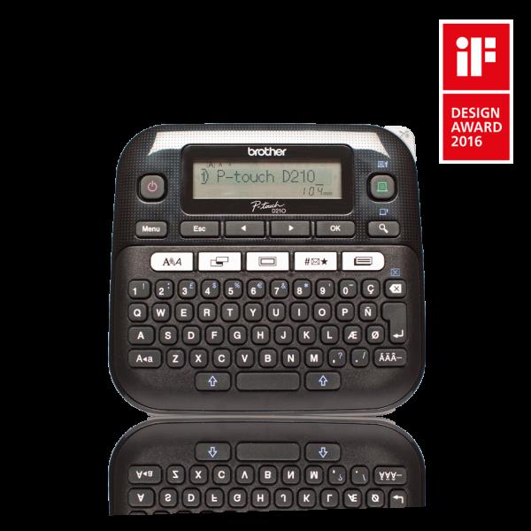 PTD210ZG1 BROTHER P-touch D210 Beschriftungsgerät