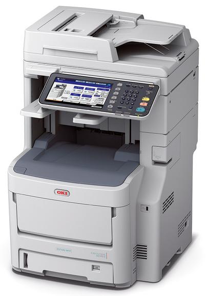 OKI ES7480DN A4 Farb-Multifunktionsdrucker für professionelle Druckqualität 45376213