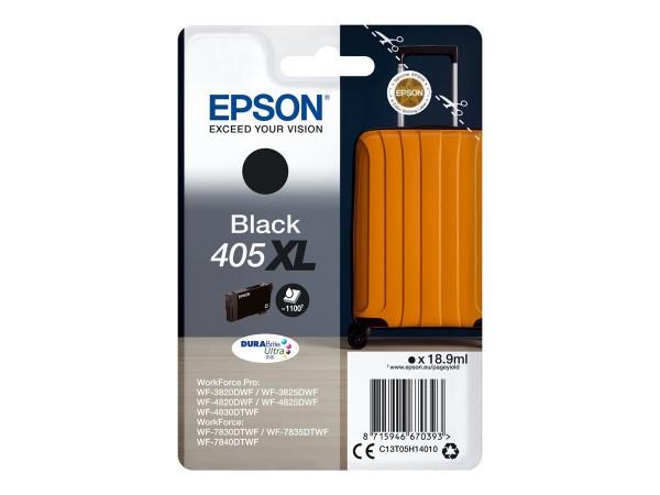Epson Tintenpatrone 405XL black C13T05H14010 für WorkForce Pro WF-C3820DWF WF-C3825DWF WF-C4820DWF