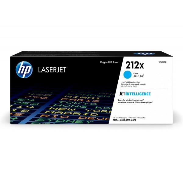 HP 212X Toner Cyan W2121X 10.000 Seiten Color LaserJet Enterprise M554dn M555dn M555x