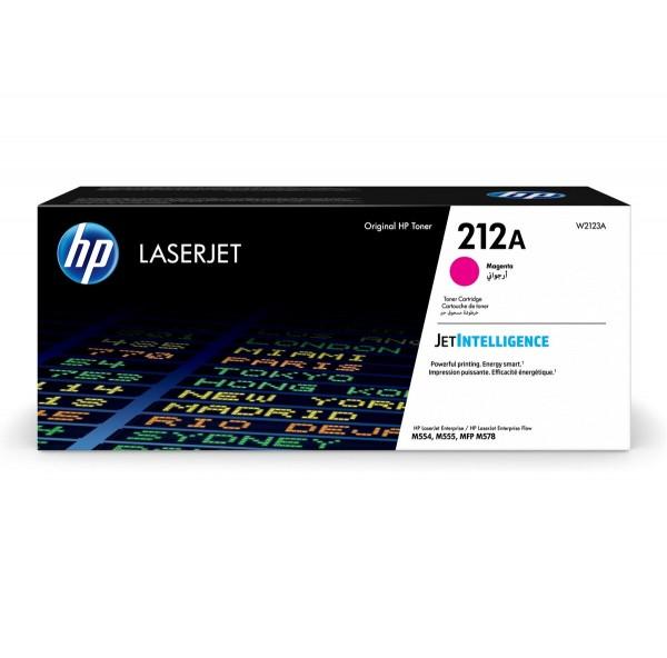 HP 212A Toner Magenta W2123A 4.500 Seiten Color LaserJet Enterprise M554dn M555dn M555x