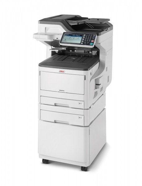 OKI MC873dnct MFP Drucker Duplex links