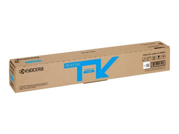 KYOCERA TK-8115C Toner cyan für 6.000 Seiten