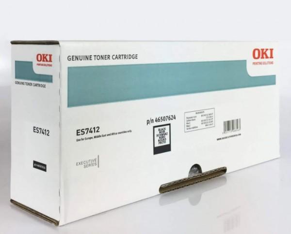 OKI 46507624 Toner Schwarz für 11.000 Seiten OKI ES7400 Original OKI ES7412dn