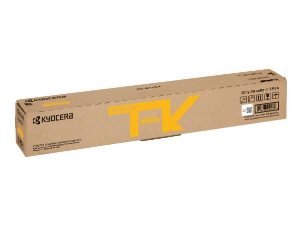 KYOCERA TK-8115Y Toner gelb für 6.000 Seiten
