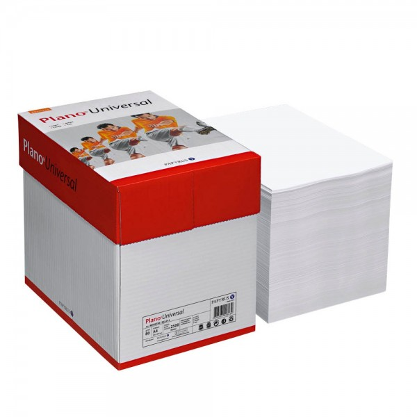 Plano Kopierpapier Universal DIN A4 80 g qm 2.500 Blatt Maxi-Box