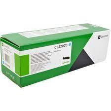 Lexmark C3220C0 Toner cyan für C3224dw C3326dw MC3224adwe MC3224dwe MC3326adwe