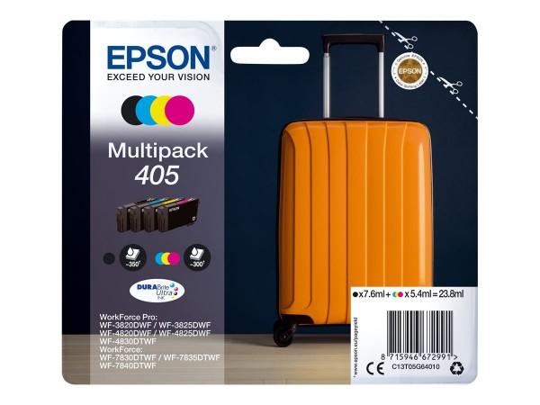 Epson Tintenpatrone 405 Multipack C13T05G64010 für WorkForce Pro WF-C3820DWF WF-C3825DWF WF-C4820DWF