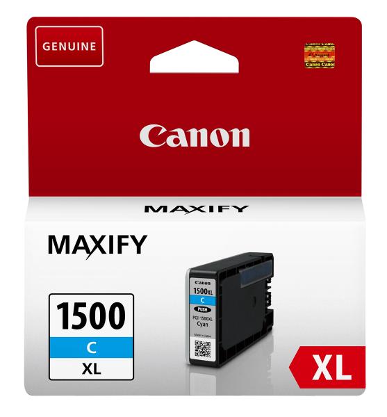 pgi-1500xl-cyan-canon originalprodukt-tintenpatrone 9193B001