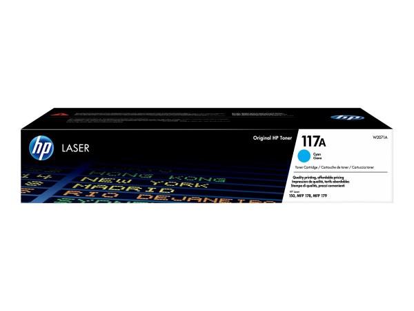 HP 117A Toner cyan W2071A für Laser 150 MFP178 MFP179