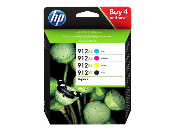 HP 912XL Multipack 3YP34AE OfficeJet 8012 8014 8015 OfficeJet Pro 8022 8024 8025 8035
