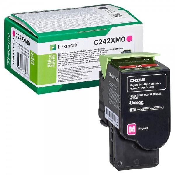 LEXMARK C242XM0 Magenta