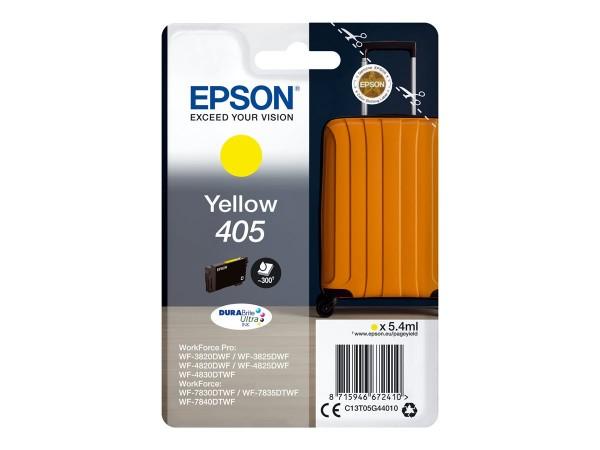 Epson Tintenpatrone 405 yellow C13T05G44010 für WorkForce Pro WF-C3820DWF WF-C3825DWF WF-C4820DWF