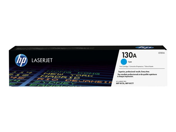 HP 130A Toner Cyan CF351A HP Color LaserJet Pro MFP M176n M177fw