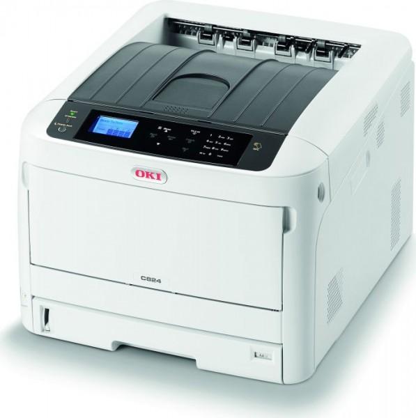 OKI C824dn A3 Farbdrucker für professionelle Druckqualität 47228002