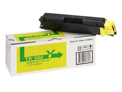 TK-580Y Toner gelb