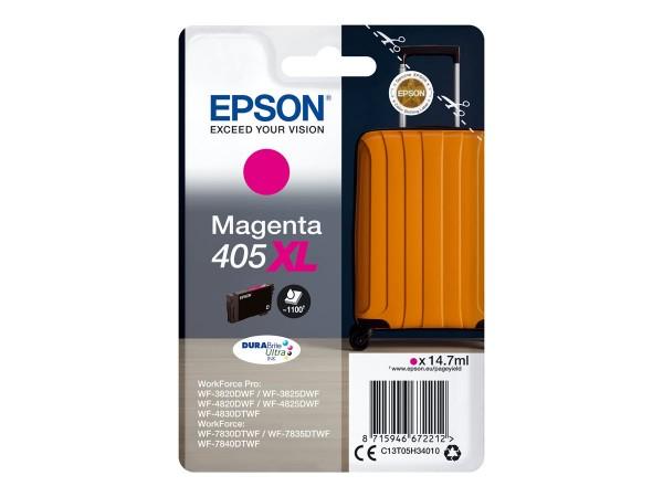 Epson Tintenpatrone 405XL magenta C13T05H34010 für WorkForce Pro WF-C3820DWF WF-C3825DWF WF-C4820DWF