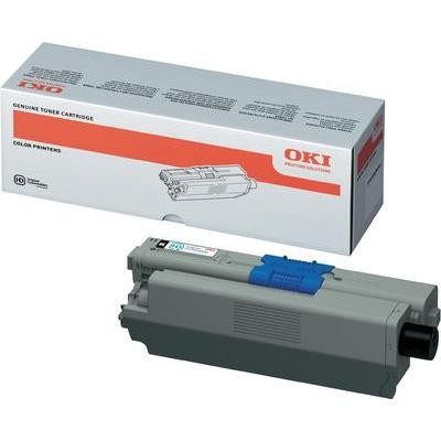OKI 44973508 Toner Black Original C511 C531 MC562