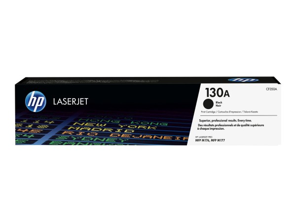 HP 130A Toner Black CF350A HP Color LaserJet Pro MFP M176n HP M177fw