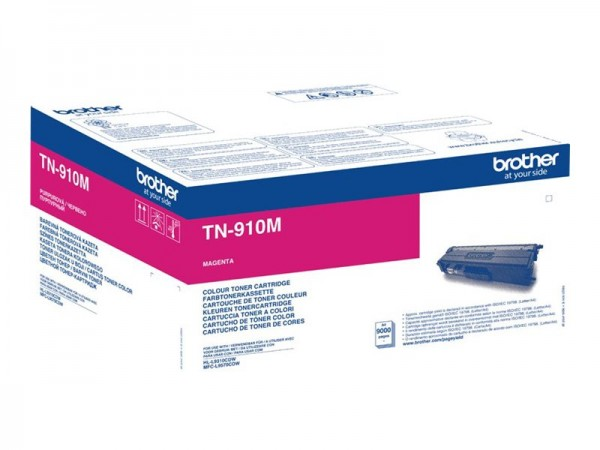 Brother TN-910M Ultra Jumbo Magenta Original PrinterPoint24