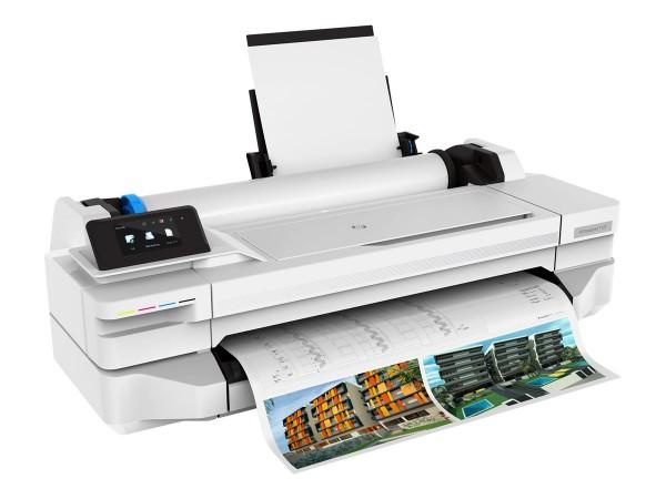 HP DesignJet T125 kompakter Großformat-Wireless-Drucker 24 Zoll 5ZY57A