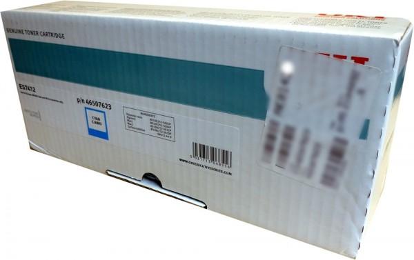 OKI 46507623 Toner Cyan für 11.500 Seiten OKI ES7400 Original OKI ES7412dn
