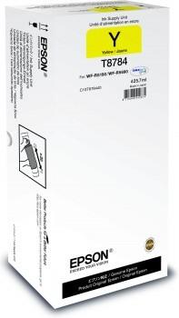 EPSON T8784 Tintenpatrone XXL Yellow 425,7 ml WF-R5190 WF-R5690 50.000 Seiten C13T878440