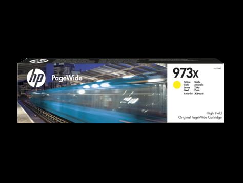 HP 973X Gelb Original PageWide Tintenpatrone mit hoher Reichweite F6T83AE