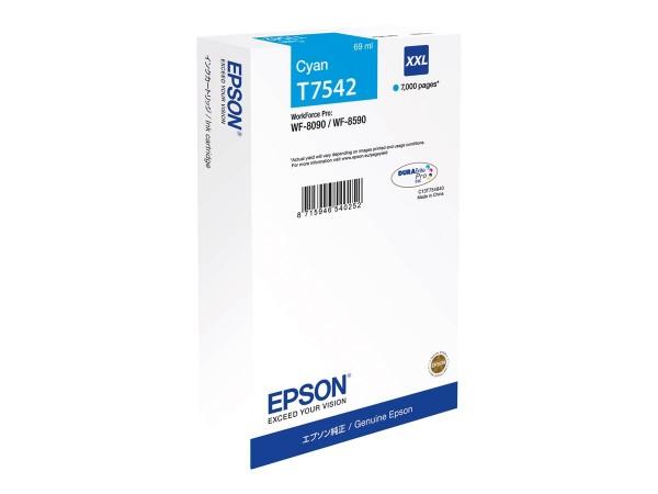 EPSON Tintenpatrone T7541 Cyan XXL C13T754240