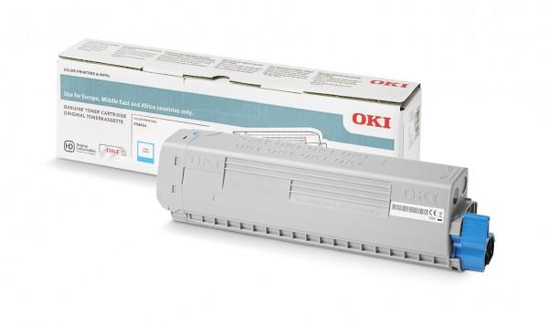 OKI 46861327 Original Toner Cyan für 10.000 Seiten OKI ES8434DN
