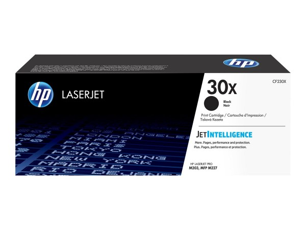 HP 30X Toner black CF230X für LaserJet Pro M203 M227