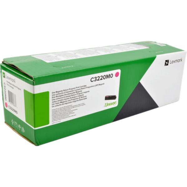 Lexmark C3220M0 Toner Magenta für C3224dw C3326dw MC3224adwe MC3224dwe MC3326adwe