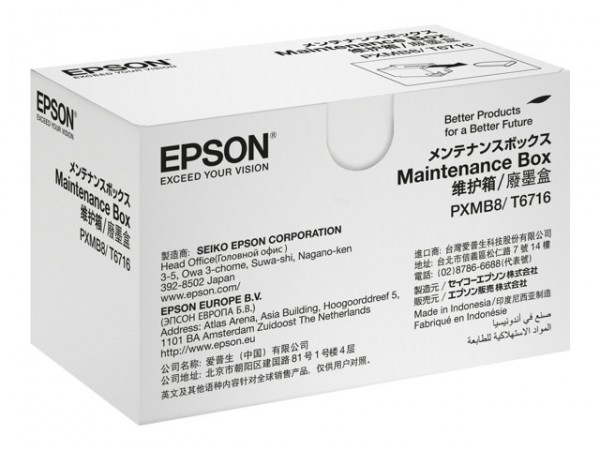 Epson T671600 Maintenance Box WorkForce Pro WF-C5210DW WF-C5290DW WF-C5710DWF WF-C5790DWF