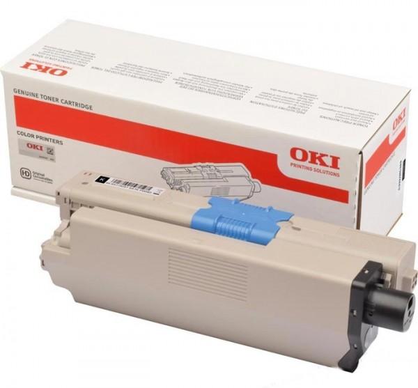 OKI Toner C332 MC363 46508712 Original Schwarz 3500 Seiten