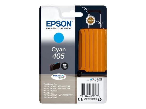 Epson Tintenpatrone 405 cyan C13T05G24010 für WorkForce Pro WF-C3820DWF WF-C3825DWF WF-C4820DWF