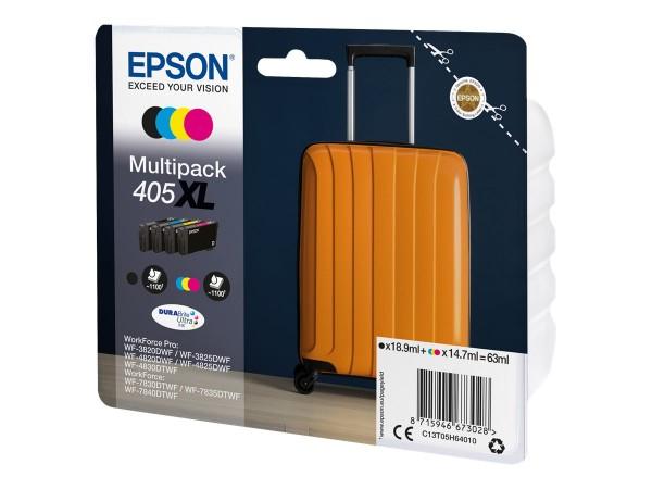 Epson Tintenpatrone 405XL Multipack C13T05H64010 für WorkForce Pro WF-C3820DWF WF-C3825DWF