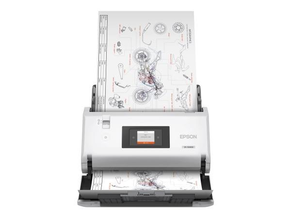 EPSON WorkForce DS-30000 Dokumentenscanner - Duplex - A3 - 600 dpi x 600 dpi - bis zu 70 Seiten B11B256401