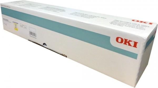 OKI Toner 45536509 für 38.000 Seiten yellow OKI ES9431dn ES9541dn ES9542dn