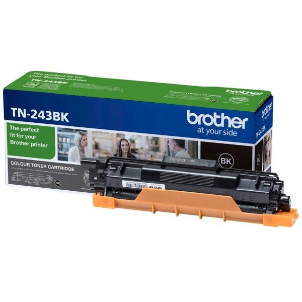 Brother TN-243BK Toner Schwarz Original