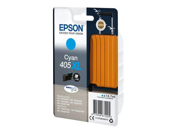 Epson Tintenpatrone 405XL cyan C13T05H24010 für WorkForce Pro WF-C3820DWF WF-C3825DWF WF-C4820DWF