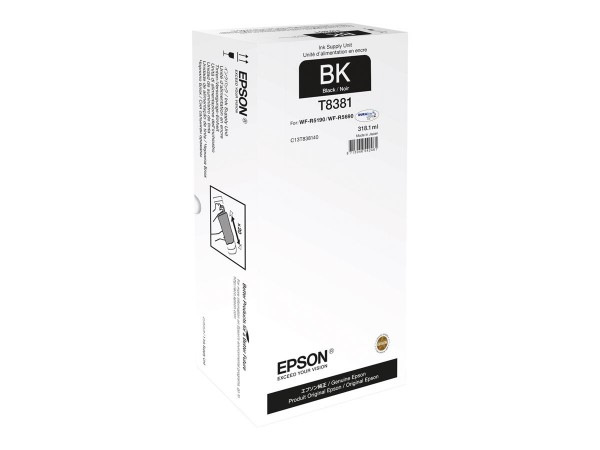C13T838140 EPSON T8381 Tinte Black XL WorkForce Pro WF-R5190