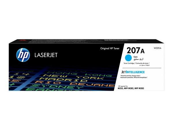 HP 207A Cyan LaserJet Toner Cartridge W2211A