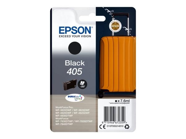 Epson Tintenpatrone 405 black Koffer C13T05G14010 WorkForce Pro WF-C3820DWF WF-C3825DWF WF-C4820DWF