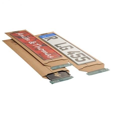 Versandtasche aus Wellpappe 600 x 145 mm VPE 100 Stück