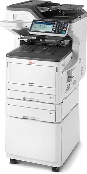 OKI MC833dnct Multifunktionsdrucker Farbe A3 09006108