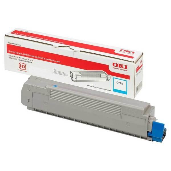 46490607 OKI Toner Cyan C532 MC573 MC563 C542 PrinterPoint24
