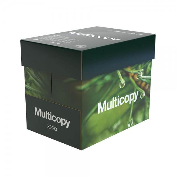 Multicopy Kopierpapier Zero CO2 neutral DIN A4 80 g qm 2.500 Blatt Maxi-Box
