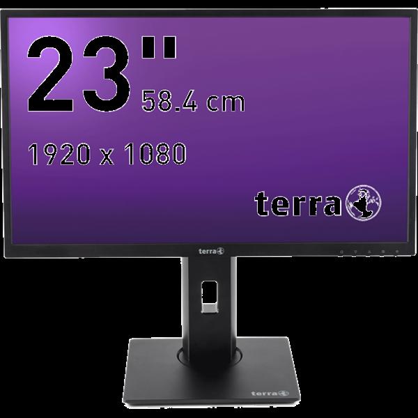 Terra LCD/LED 2311W PV 23 Zoll 1920 x 1080 Pixel (Full-HD) 58.4 cm