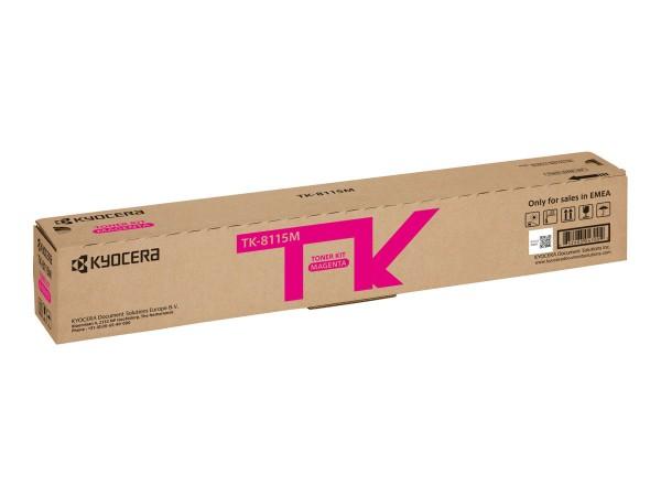 KYOCERA TK-8115M Toner magenta für 6.000 Seiten