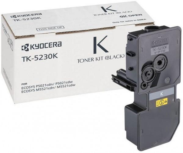 Kyocera Original Toner TK-5230K Schwarz für M5521cdn, M5521cdw, P5021cdn